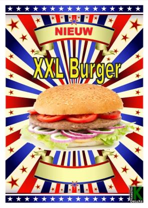 XXL Burger klein